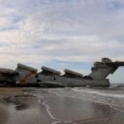 'Kaspische zeemonster' na dertig jaar uit militaire haven