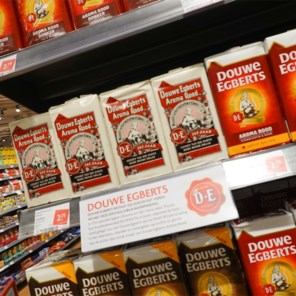 Cafeïne-oorlog tussen Douwe Egberts en Nespresso