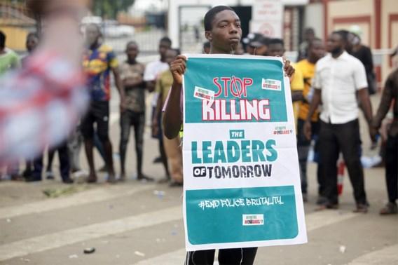 Ordediensten doden minstens 12 manifestanten in Nigeria