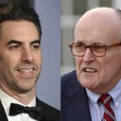 Nieuwe Borat-film brengt advocaat Trump in netelige situatie
