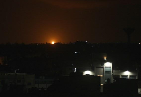 Israël bombardeert Gaza na raketaanval en ontdekking van tunnel