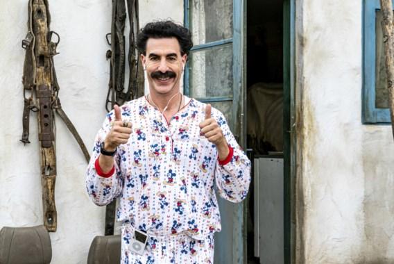 Borat doet het opnieuw (maar het werkt niet)