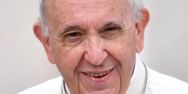 Paus Franciscus: 'Holebiparen moeten samenlevingscontract kunnen sluiten'
