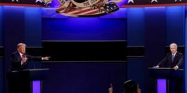 Trump en Biden maken van laatste treffen een topdebat: 'U kent mij, en u kent hem. Welk land wil u zijn?'