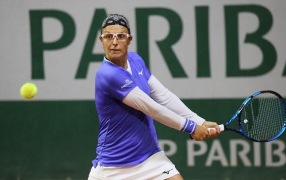 Kirsten Flipkens net als Elise Mertens in halve finales dubbelspel op WTA-toernooi Ostrava