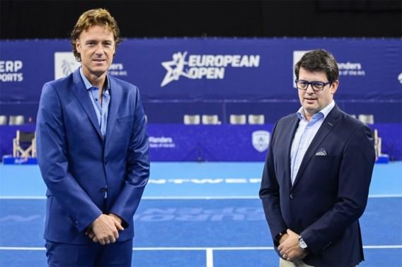 """European Open blijft in moeilijke omstandigheden overeind: """"Ook volgend jaar staat Antwerpen op de kalender"""""""
