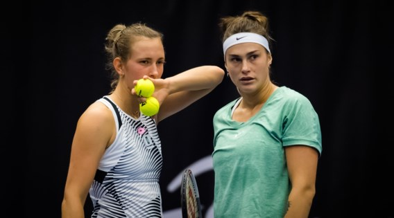 Elise Mertens wint in Tsjechië met Aryna Sabalenka het dubbelspel