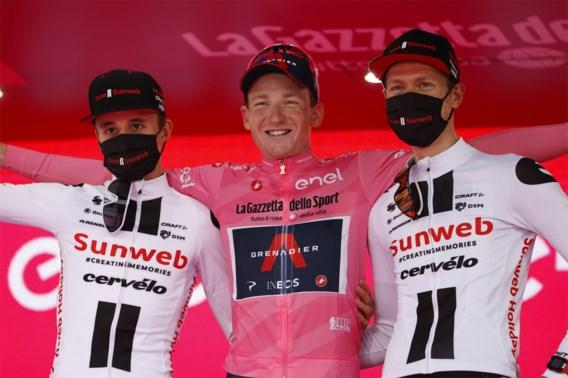 """Winnaar Tao Geoghegan Hart overtrof in Giro zijn stoutste dromen, verliezer Wilco Keldermann gaat """"flink aan het bier"""""""