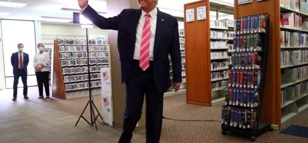 Donald Trump heeft zijn stem uitgebracht