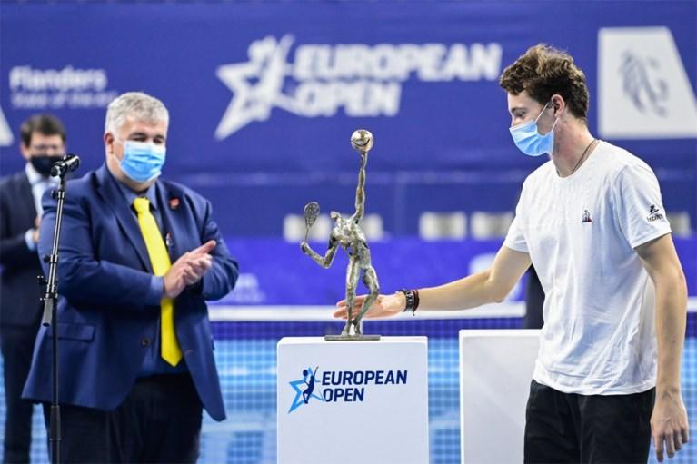 """22-jarige Ugo Humbert wint European Open en wordt derde Franse winnaar in Antwerpen: """"Tennis kan soms echt een gekke sport zijn"""""""