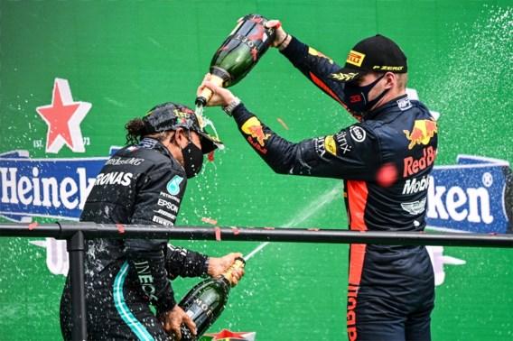 """Max Verstappen blaast na record van Lewis Hamilton: """"Ik zal moeten doorgaan tot mijn 40e of zo"""""""