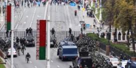 De krachtmeting in Wit-Rusland is begonnen