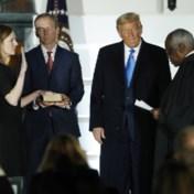 Na goedkeuring Amerikaanse Senaat: Amy Coney Barrett legt eed af als opperrechter