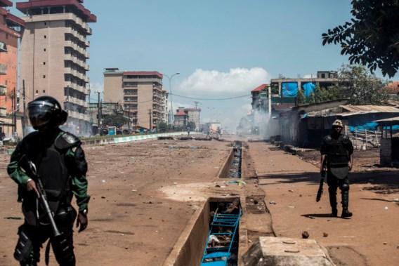 Geweld naar aanleiding van presidentsverkiezingen Guinee kost al 21 mensenlevens