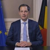 Premier De Croo in videoboodschap: 'We mogen ons niet uit elkaar laten spelen'