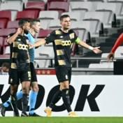 Standard is maatje te klein voor dartel Benfica en hijst witte vlag na twee lichte strafschoppen