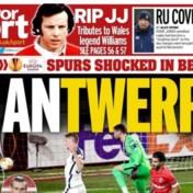 Antwerp siert covers van Britse sportkranten: 'Verdiende overwinning met Ritchie De Laet in majestueuze vorm'