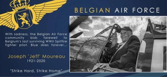 De laatste Belgische militaire piloot die vloog op D-Day is overleden: 'Ik ben geen piloot maar een jager'