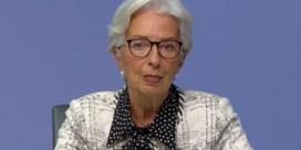 ECB-baas Lagarde doet een 'Jambonneke'