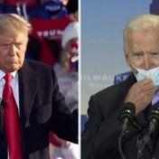 Trump en Biden vechten om kiezers in Wisconsin: 'Hij heeft jullie een mes in de rug gestoken'