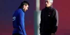 """Quique Setién praat voor het eerst na ontslag bij Barcelona: """"Lionel Messi is niet makkelijk te managen"""""""