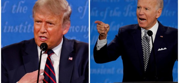 Dit politiek theater kreeg de Amerikaanse kiezer dit jaar voorgeschoteld