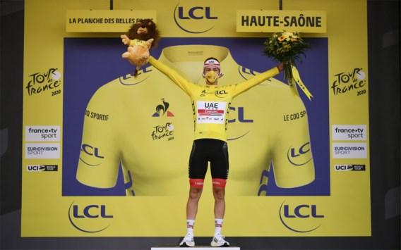 """Tourwinnaar Pogacar: """"Had liever wat meer aankomsten bergop gezien in 2021"""""""