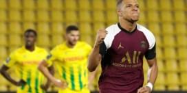 PSG mist na Icardi en Neymar nu ook Kylian Mbappé met een blessure tegen RB Leipzig