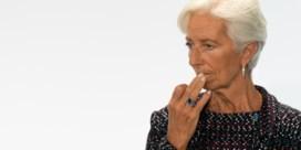 Lagarde liep geen vlekkeloos parcours