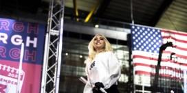 Lady Gaga speecht voor Biden: 'Stem alsof je leven ervan afhangt'