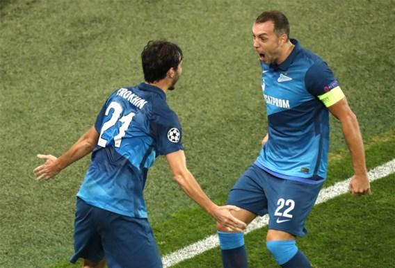 Lazio niet verder dan gelijkspel op Zenit dat zijn eerste puntje pakt