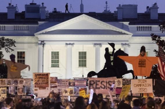 Sfeer onder aanhangers van Biden slaat om voor het Witte Huis