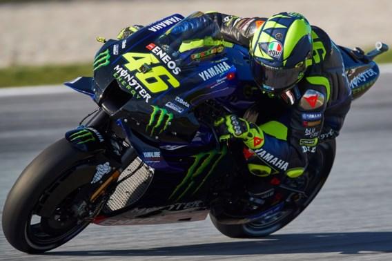 """Valentino Rossi test opnieuw positief en dreigt derde MotoGP te missen: """"Trieste situatie"""""""
