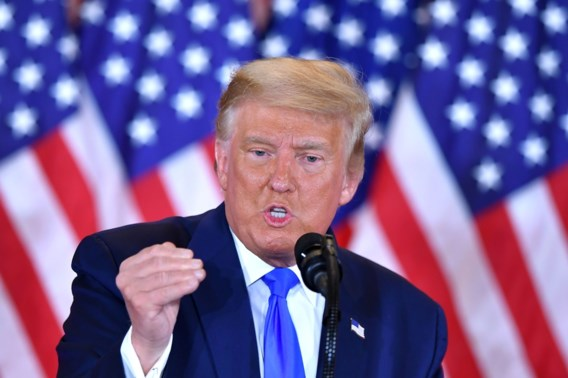 Ongeziene overwinningsclaim Trump is exact wat voorspeld werd