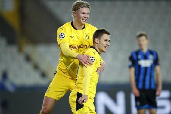 Club Brugge onderuit tegen efficiënt Dortmund