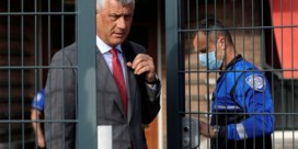 Pas afgetreden Kosovaarse president Thaçi opgesloten in cel in Den Haag