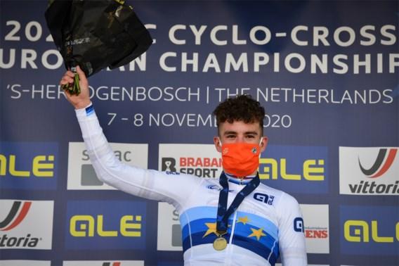 Wereldkampioen Ryan Kamp kroont zich nu ook tot Europees kampioen bij beloften