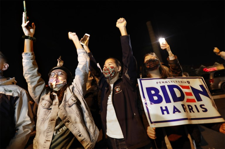 Verzoenende Biden spreekt de VS toe: 'We gaan deze race winnen'