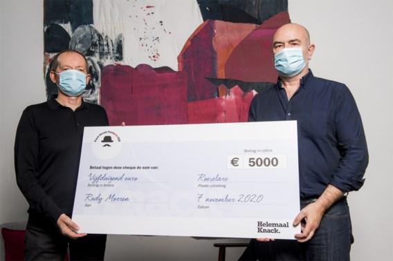 Acteur Rudy Morren schreef beste Vlaamse misdaadroman dit jaar