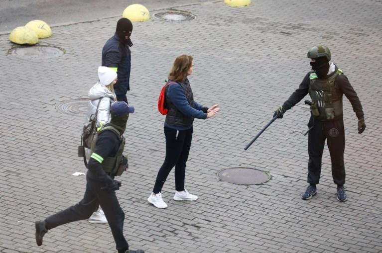 Meer dan duizend demonstranten aangehouden in Wit-Rusland