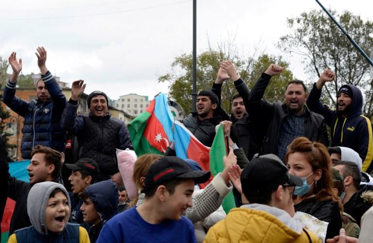 Azerbeidzjan: 'Tweede grootste stad conflictgebied Nagorno-Karabach veroverd', Armenië ontkent