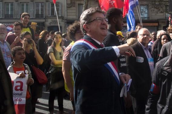 Jean-Luc Mélenchon stelt zijn kandidatuur voor de Franse verkiezingen van 2022
