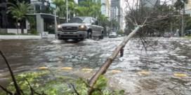 Tropische storm Eta richt schade aan in Florida