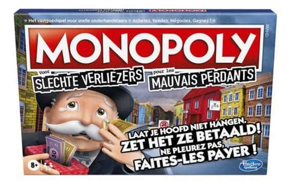Bij de nieuwe versie van Monopoly kun je maar beter verliezen