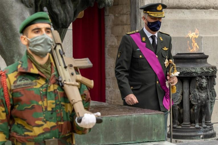 Koning herdenkt Wapenstilstand aan Congreskolom in Brussel, premier De Croo woont eerbetoon bij aan de Menenpoort