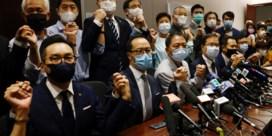China veroordeelt ontslag prodemocratische oppositie Hongkong