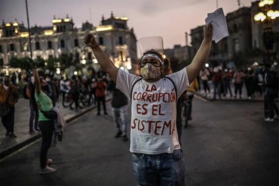 Voor tweede dag op rij manifestaties tegen nieuwe Peruaanse president