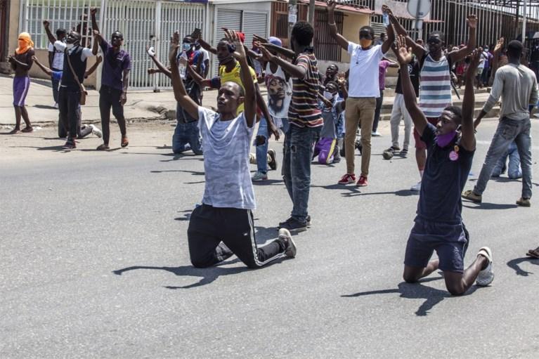 Politie schiet op betogers in Angola