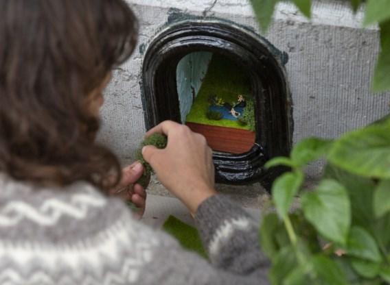 Heel de wereld kijkt naar de holtes in Antwerpse muren