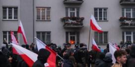 Geweld en brand, maar regeringspartij spreekt over 'fantastische' mars